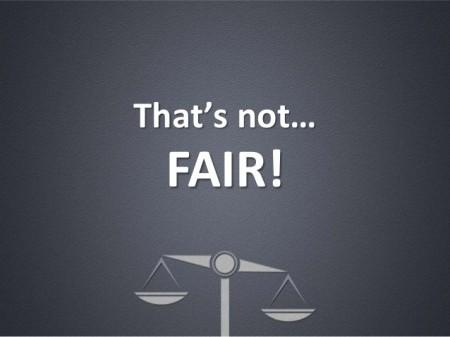 Not Fair