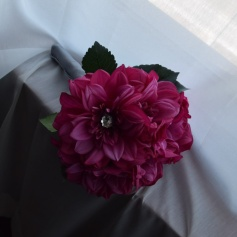 Pink and sparkly for the bouquet